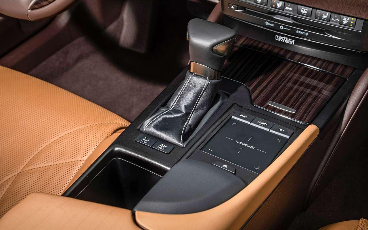 Новый Lexus ES— тест самых «вкусных» модификаций— фото 892657