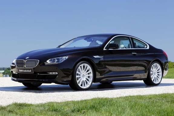 BMW6-Series Coupe Individual front view