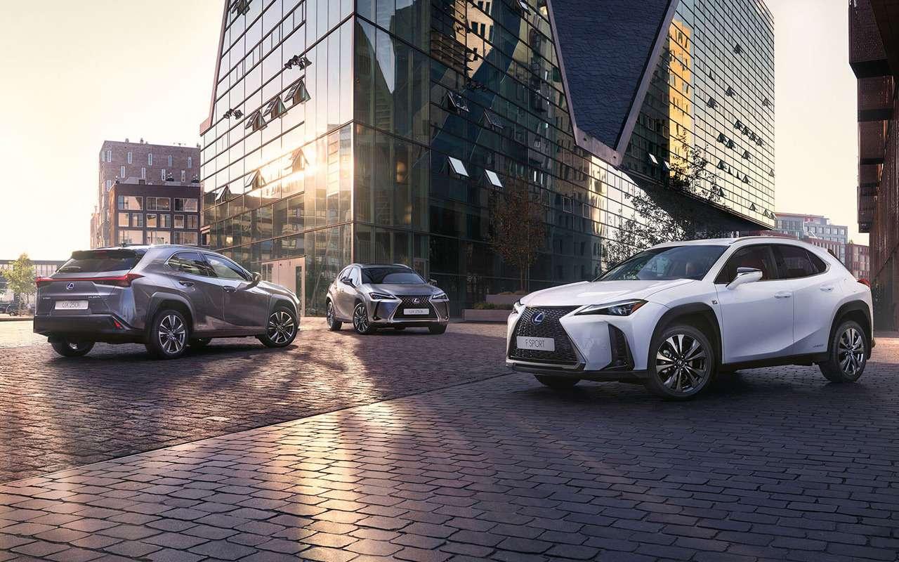 Lexus UXпоступил впродажу— фото 953430