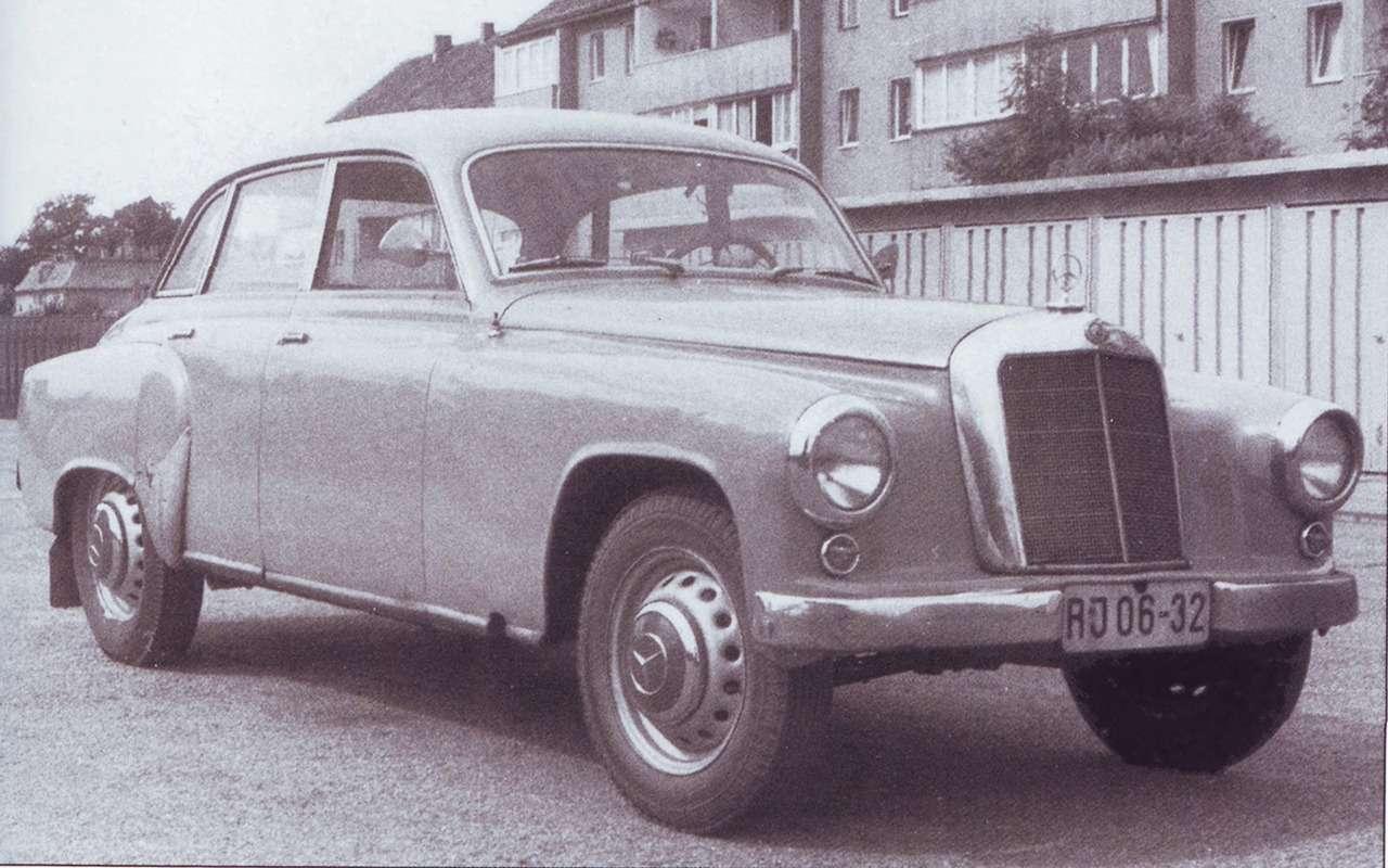 Да, иэто тоже Mercedes! 15самых странных модификаций— фото 991887