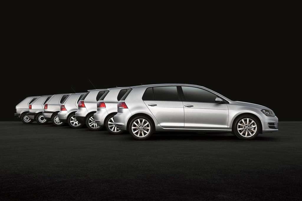Volkswagen Golf Eine Ikone  seit sieben Generationen