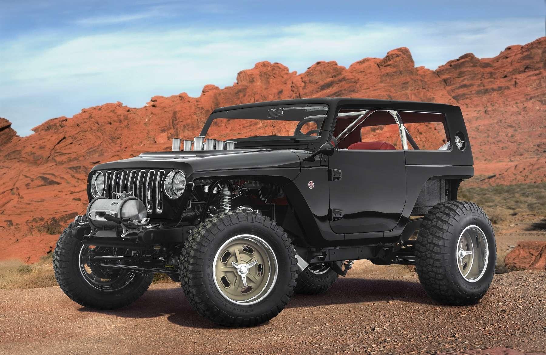 Онвернулся: Jeep представил… Grand Cherokee первого поколения— фото 729912