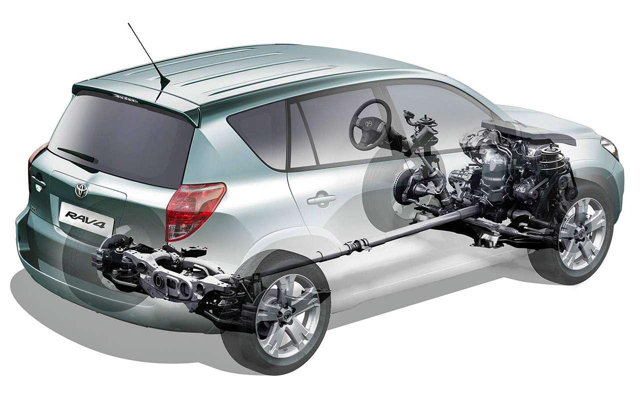 Toyota RAV4(2005-2014): эталон надежности— фото 1279887