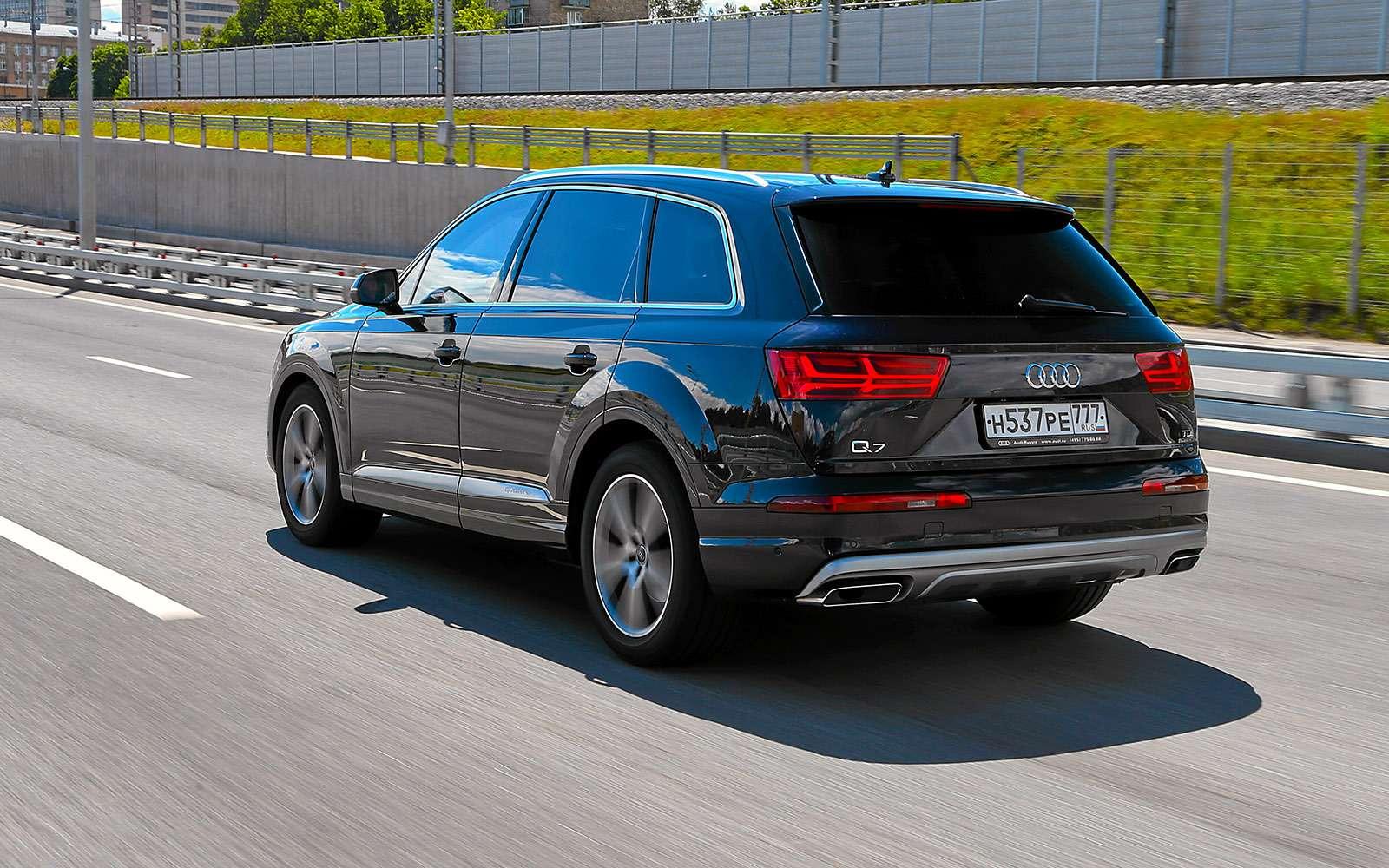 Новый Land Rover Discovery против конкурентов— тест ЗР— фото 784672