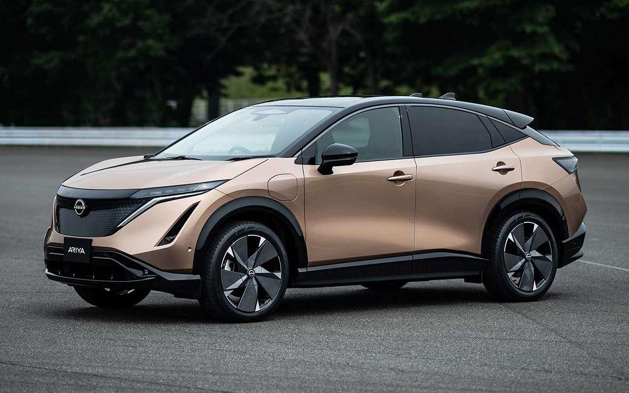 Nissan Ariya— мировая премьера новой надежды бренда— фото 1145155