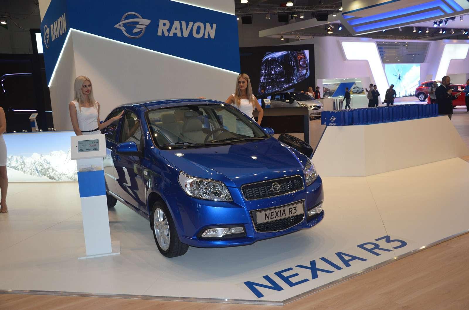Ravon привез новый бюджетник R4с большим багажником— фото 624057
