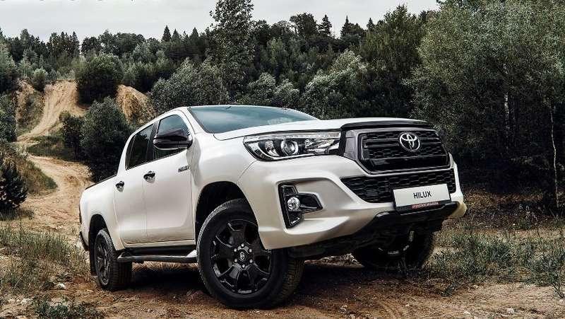 Toyota обновила топовую версию пикапа Hilux