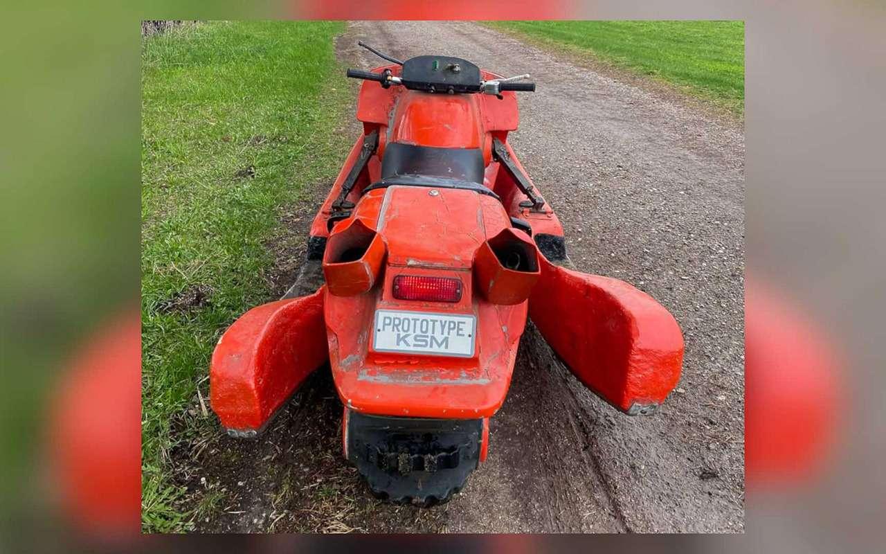 Раритетный мотовездеход-амфибия смотором Honda— фото 1250489