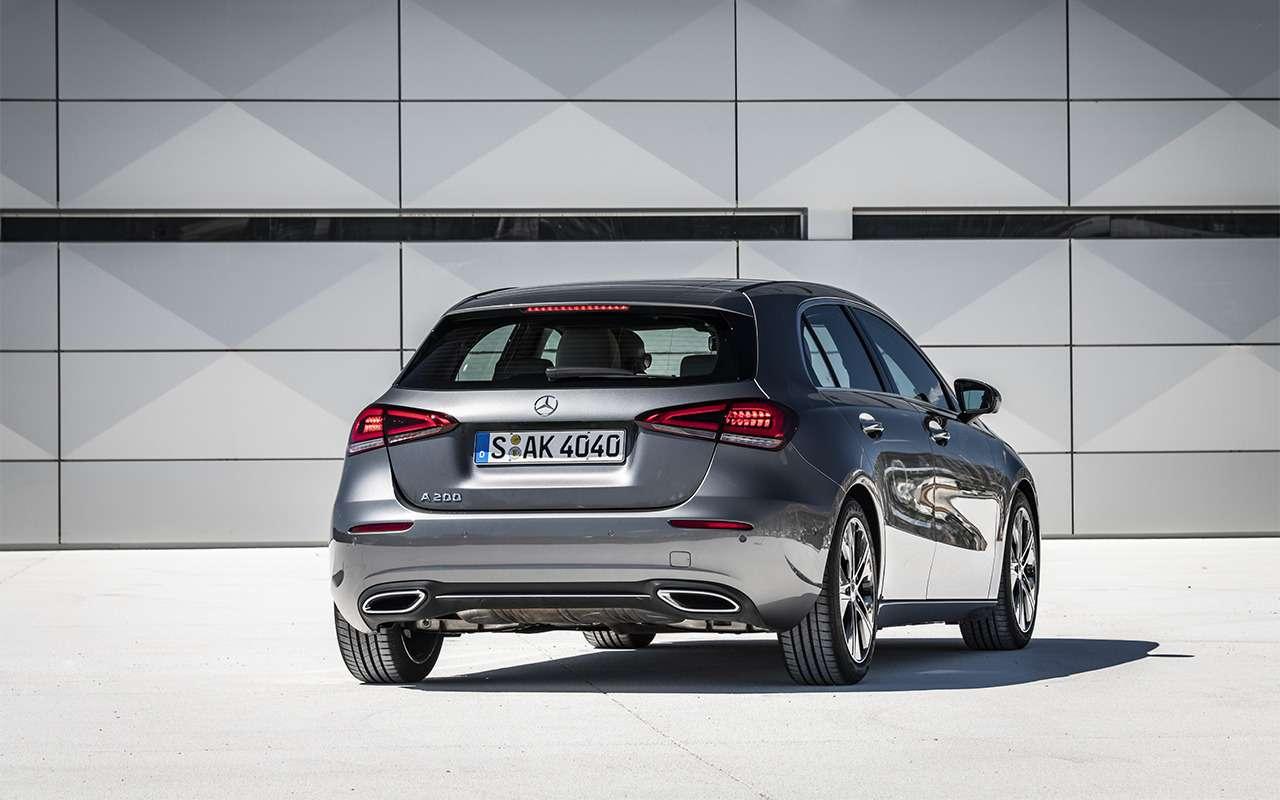Новый Mercedes-Benz A-класса— первый тест-драйв— фото 863991