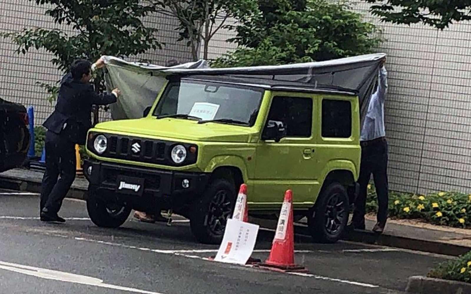 Новый Suzuki Jimny: первые фотографии без камуфляжа— фото 876721