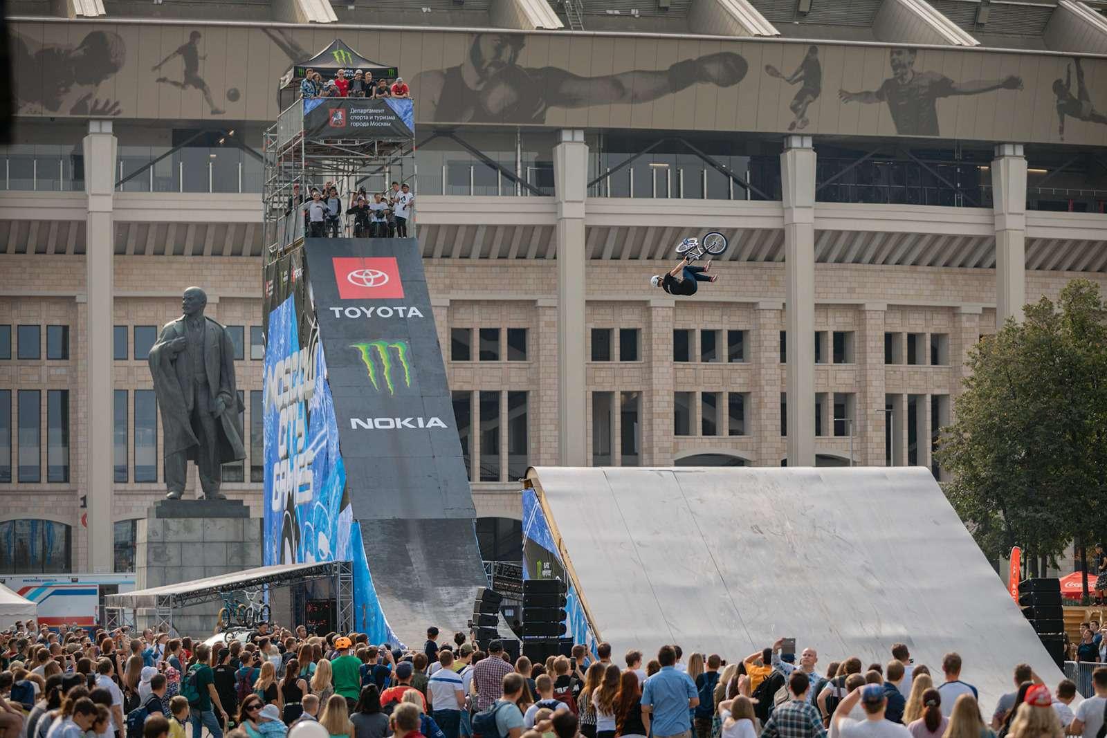 Toyota поддержала фестиваль Moscow City Games— фото 904359
