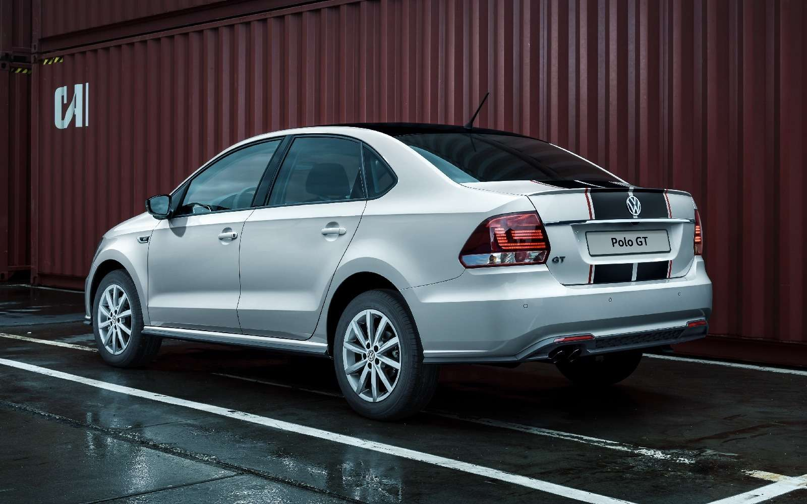 Российский Volkswagen Polo GT: полосок навсех нехватит!— фото 592178