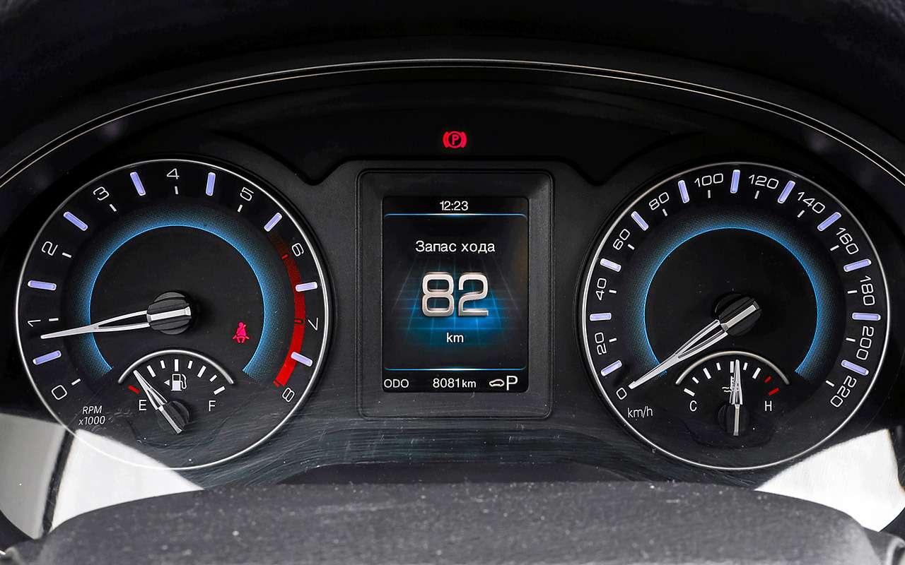 Большой тест кроссоверов: обновленный Ford EcoSport иконкуренты— фото 911196