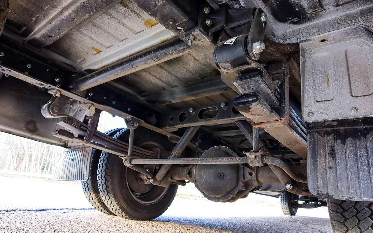 Самая тяжелая ГАЗель Next, новая версия— подробный тест— фото 1060390