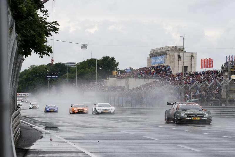 Motorsports/ DTM: german touring cars championship 2014, 4.round atNorisring, Germany