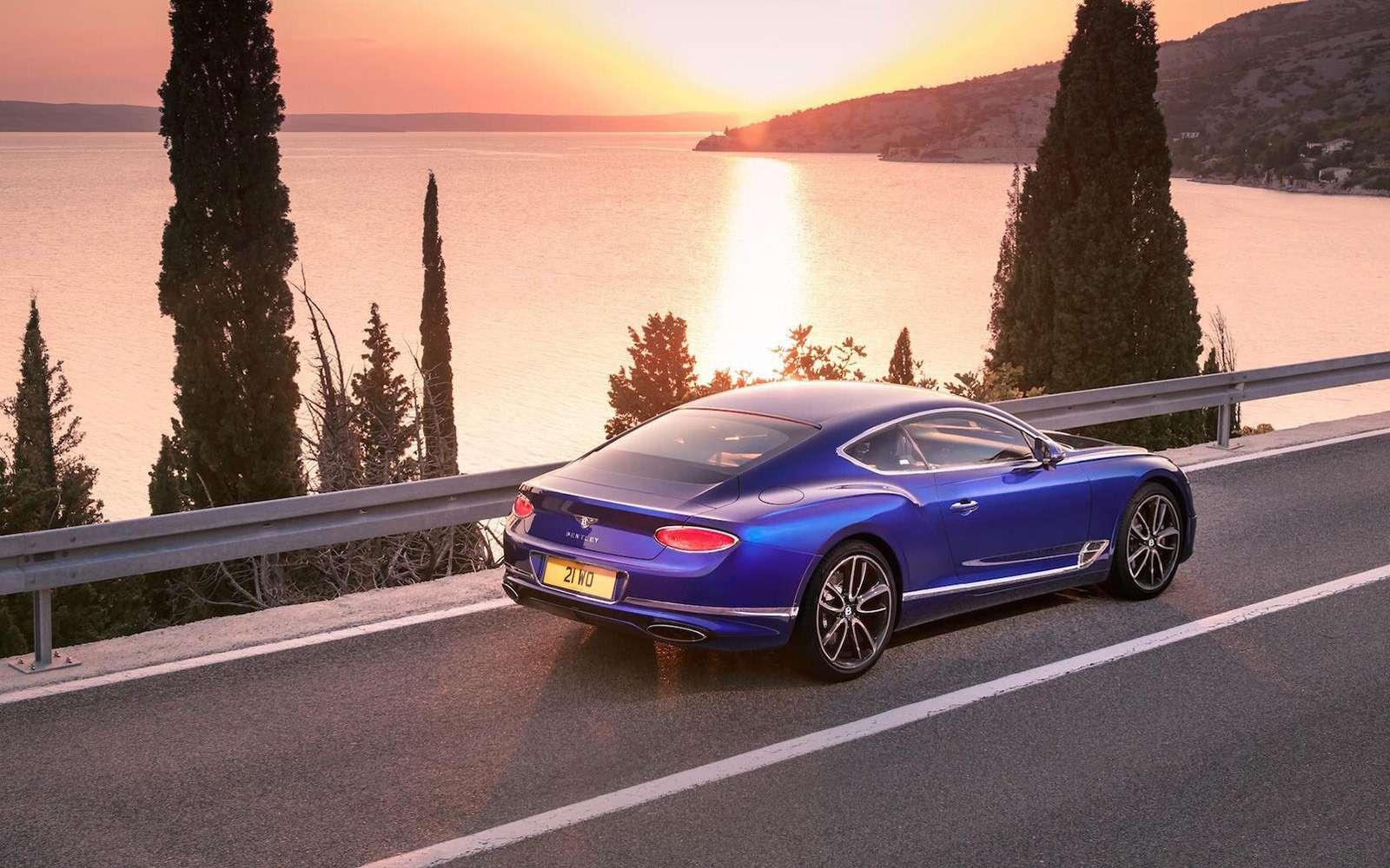 Новый Bentley Continental GT: двухдверная Panamera по-британски— фото 789202