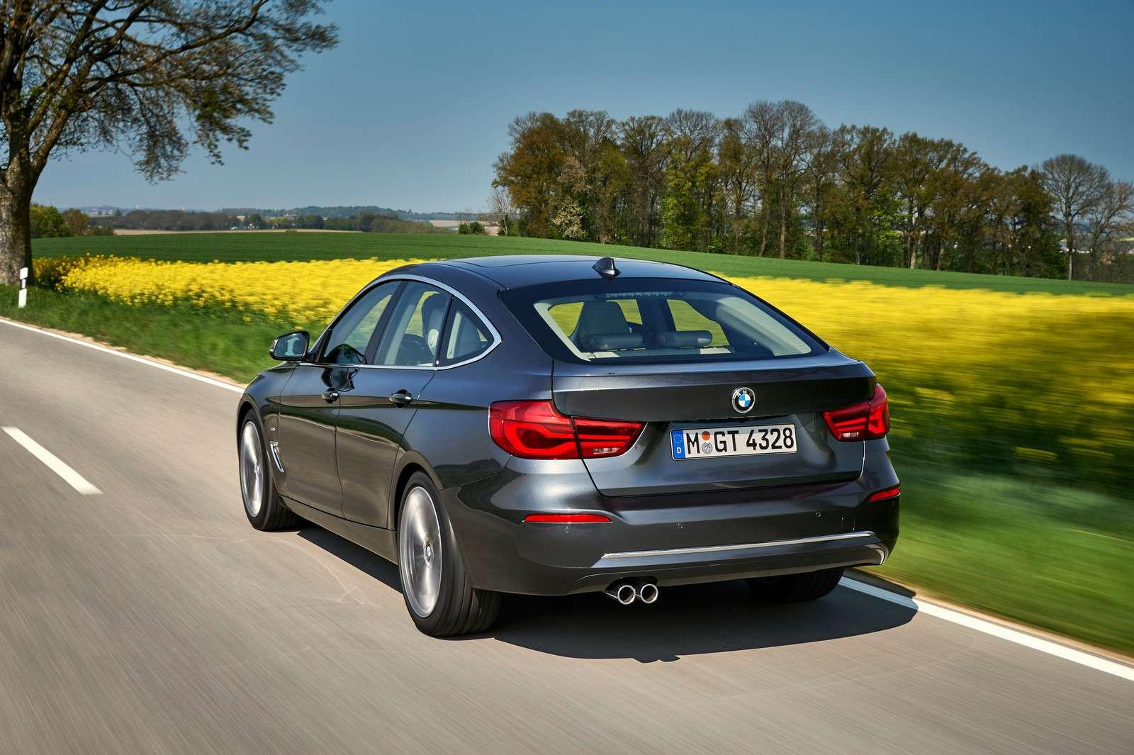 Обновленный BMW 3-й серии GT: урок эффективного менеджмента— фото 593845