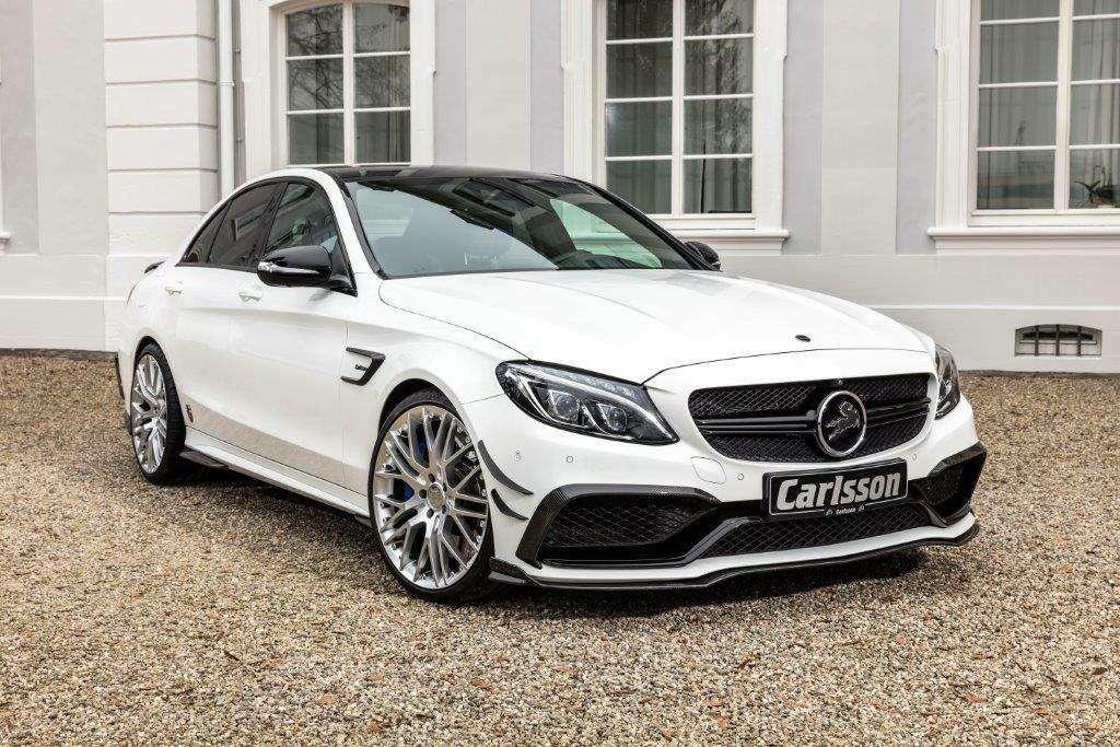 Carlsson не длямалышей: Mercedes-AMG C63S наводит ужас