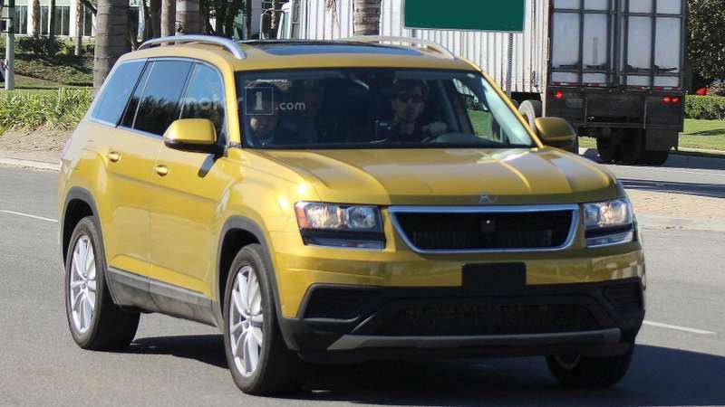 Свой вдоску: кроссовер Volkswagen назовут по-американски