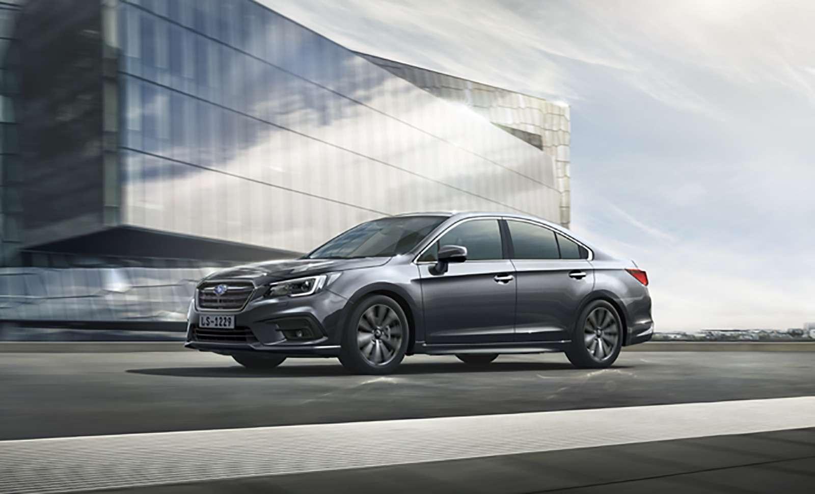 Возвращение Subaru Legacy вРоссию: первые подробности— фото 849355
