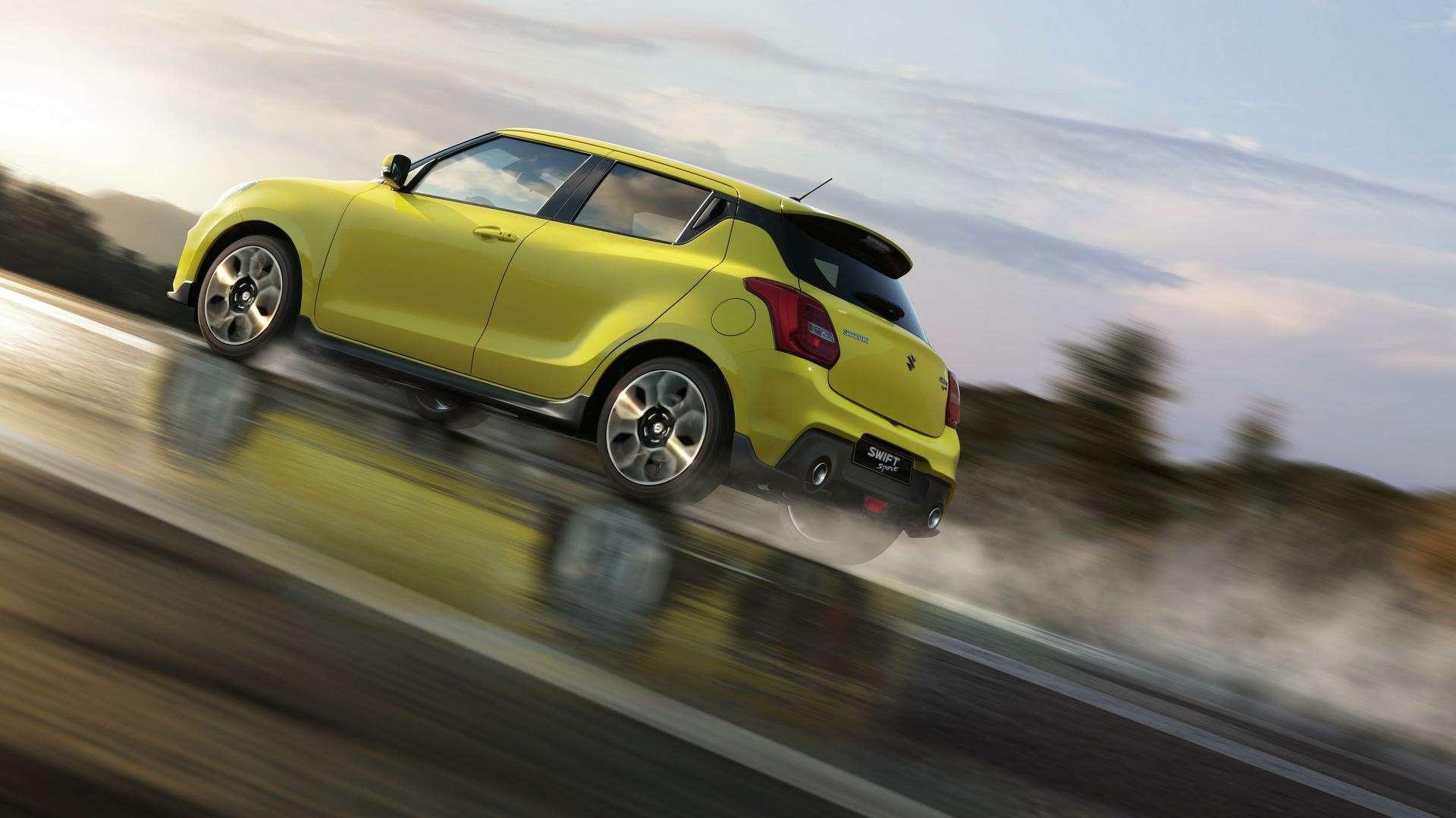 Suzuki Swift Sport— премьера боевого «стрижа»— фото 793903