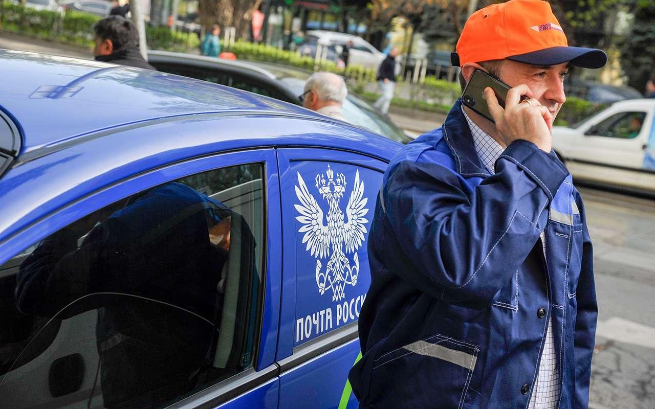 «Почта России» пересела на электрокары. Кое-где - фото 970924
