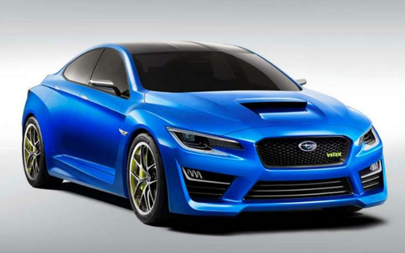 no copyright 2014 Subaru Impreza WRX Concept front three quarter