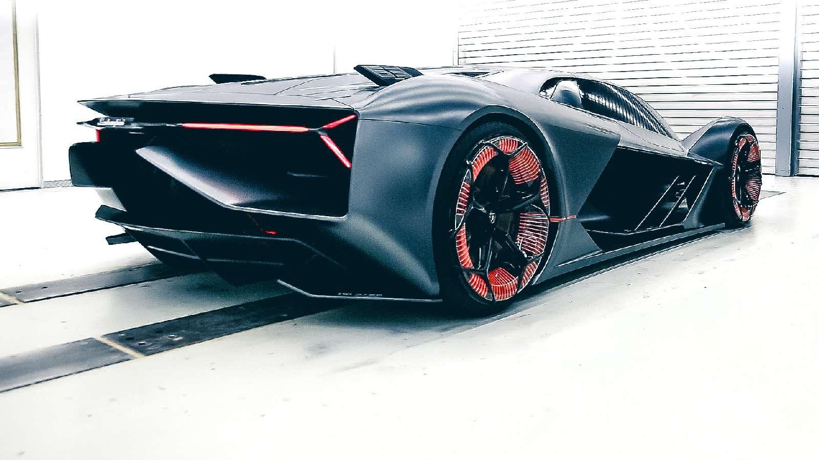 Lamborghini будущего: кузов-батарейка ссамовосстановлением— фото 813923