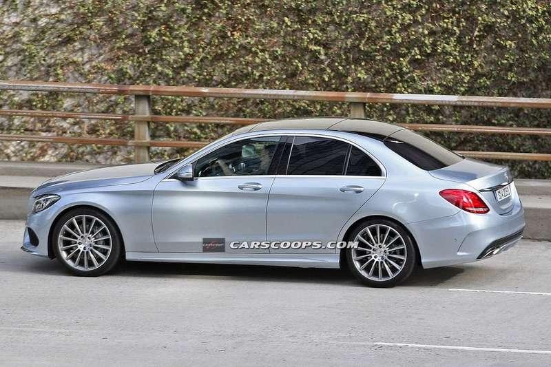 Новый Mercedes-Benz C-класса