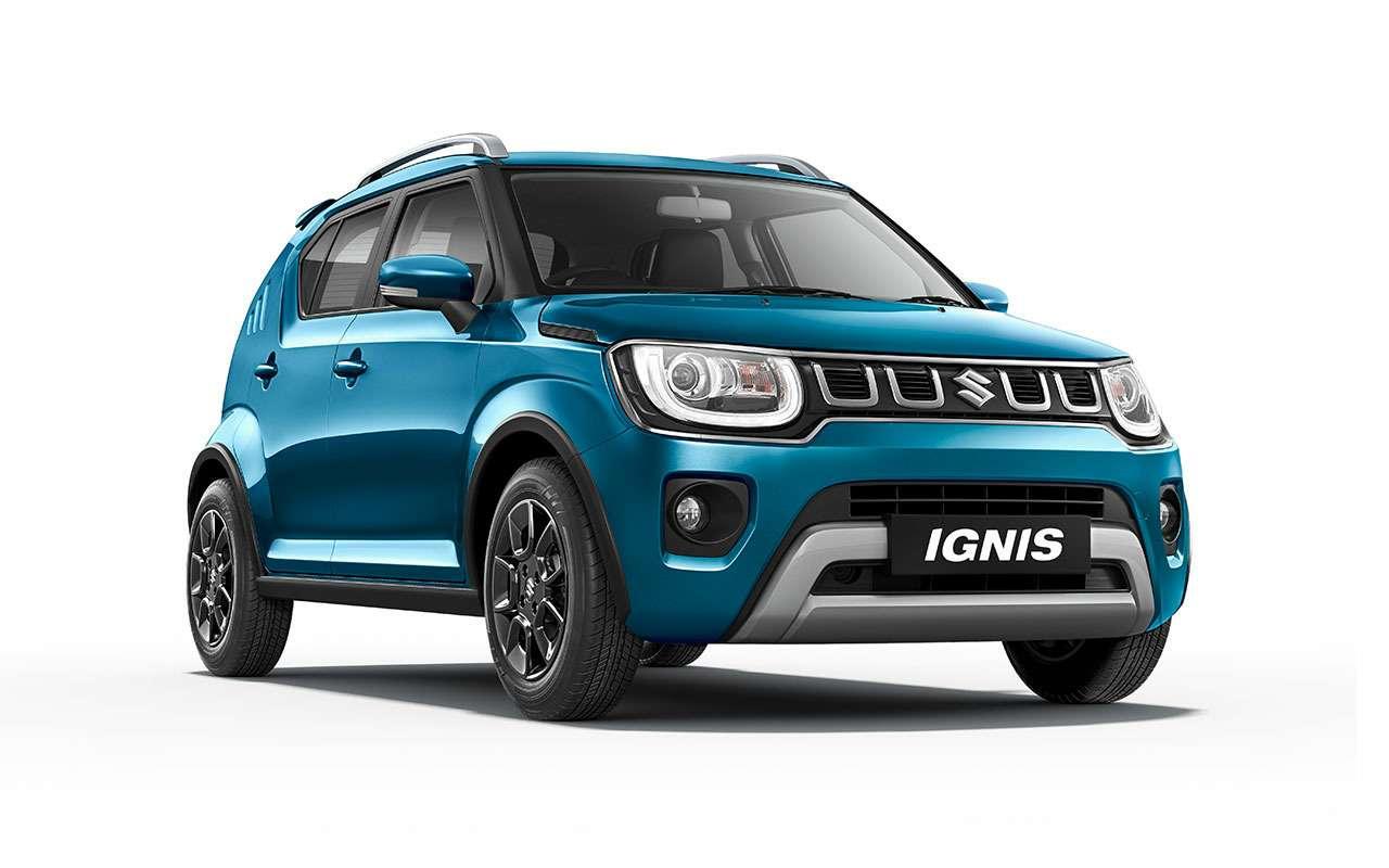 Премьера обновленного Suzuki Ignis: мотор слегка «придушили»— фото 1083214