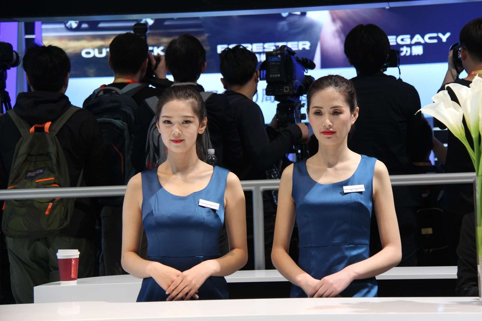Девушки Пекинского автосалона— 2018— фото 865605