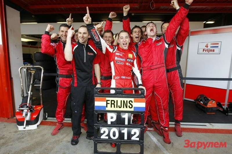 Робин Фрийнс, Fortec Motorsports