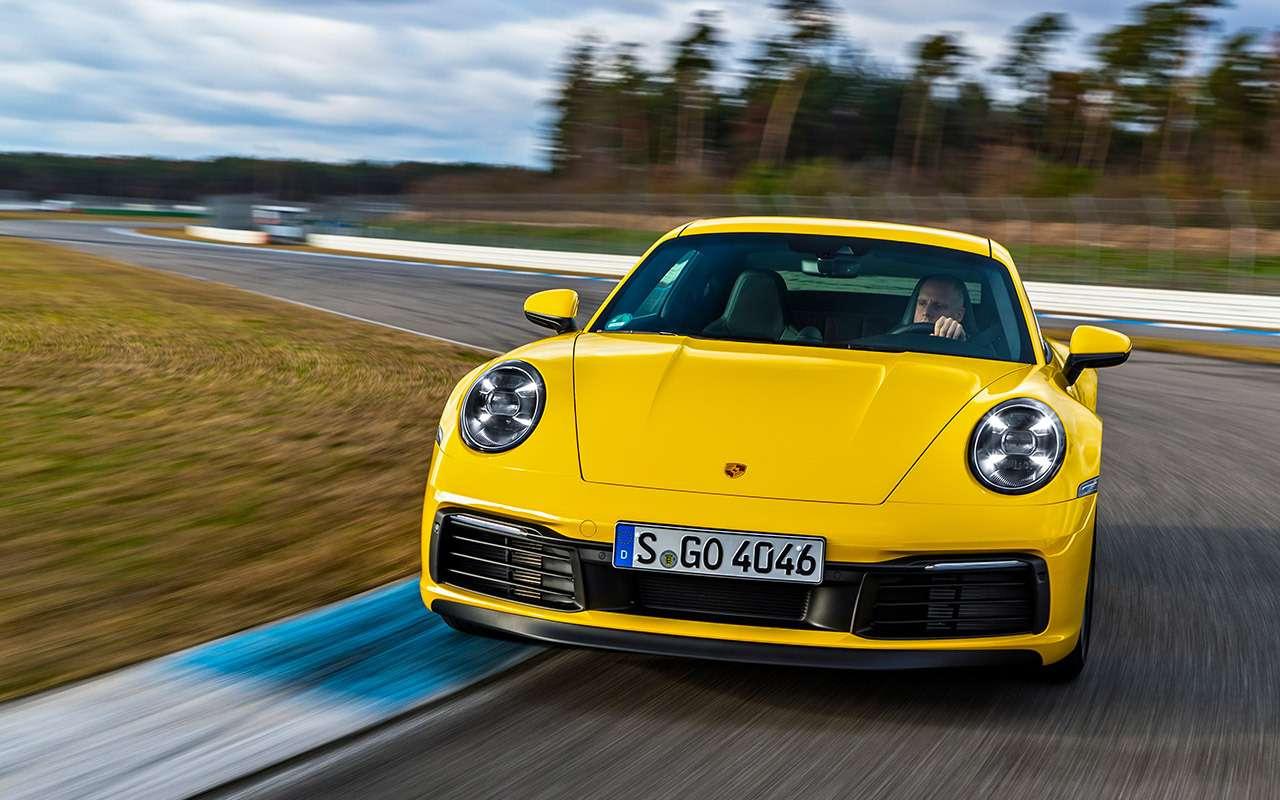 Новый Porsche 911: тест-драйв в«мокром» режиме— фото 950807