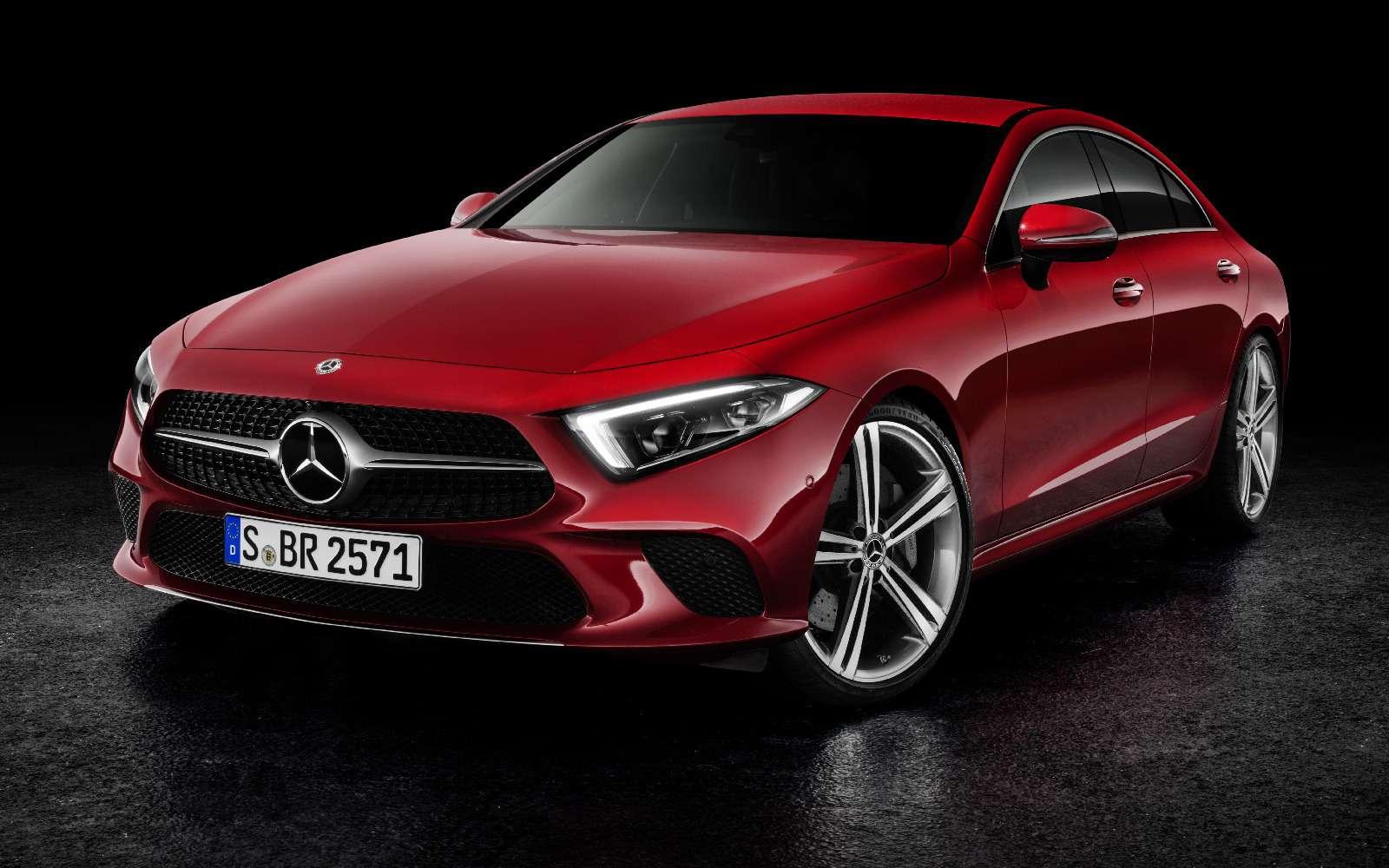 Новый Mercedes-Benz CLS: еще больше чувственности— фото 822026