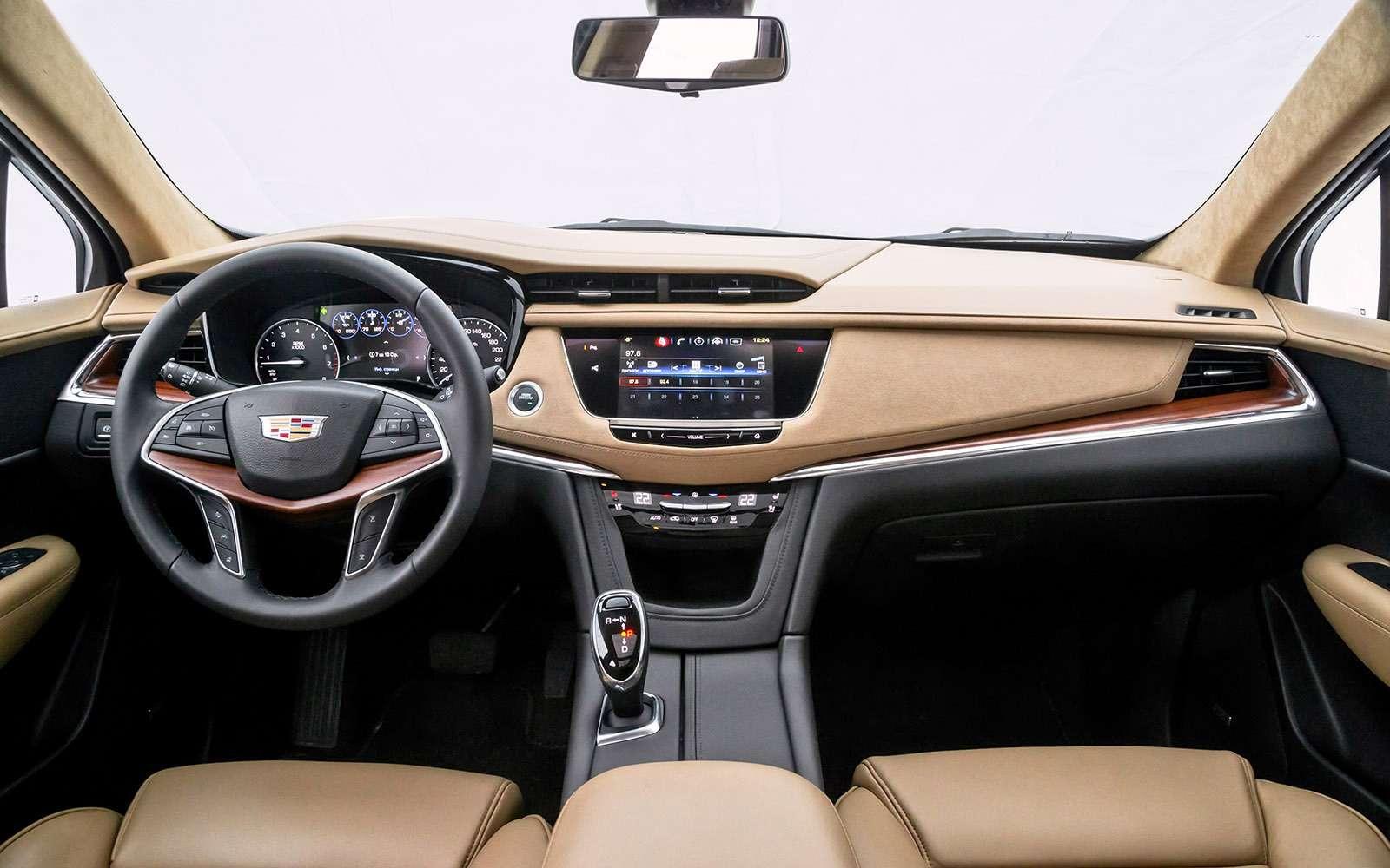Тест премиум-кроссоверов: Lexus RX350, Cadillac XT5и Jaguar F-Pace— фото 721794