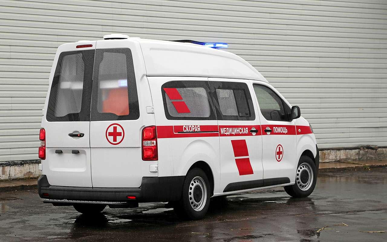 Какустроен современный автомобиль скорой помощи— фото 875258