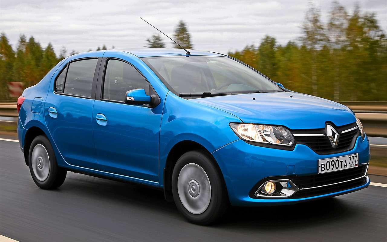 Renault Logan против Sandero Stepway: выбираем оптимальную комплектацию— фото 863192