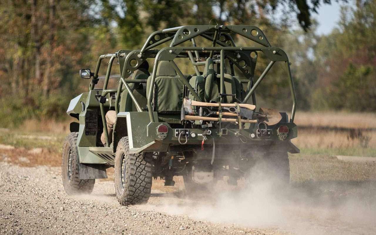 Новая машина пехоты США— это стоит больше 23млн рублей— фото 1284313