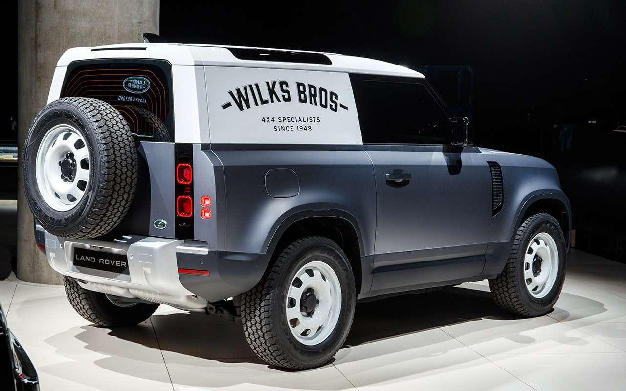 Новый Land Rover Defender: все его главные особенности— фото 1002766