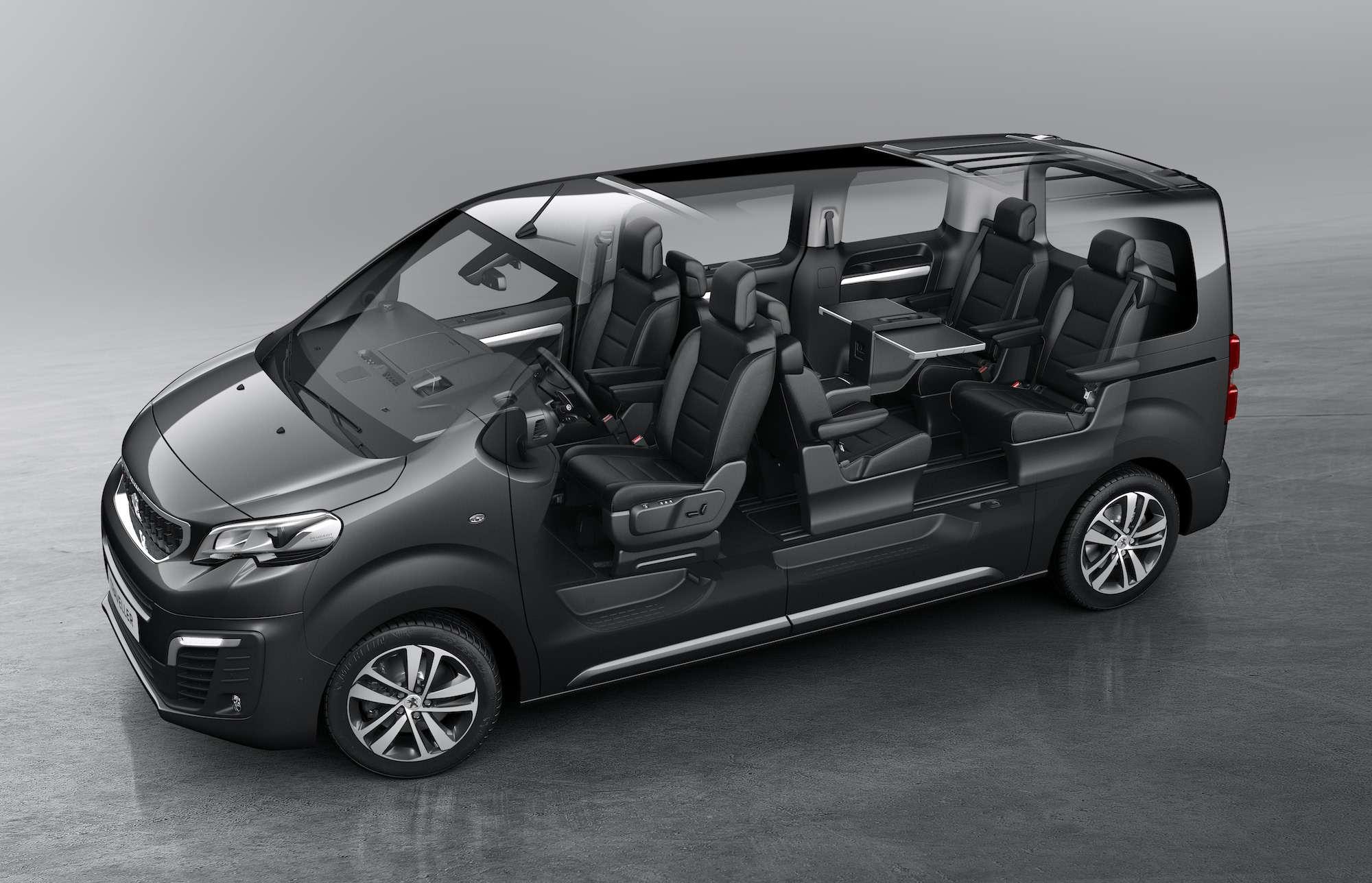 Peugeot Traveller VIP Business: сообразим насемерых?— фото 905194