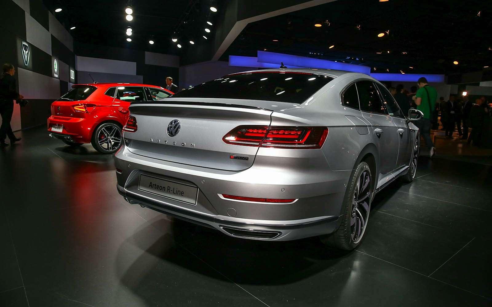 Volkswagen Arteon: это вам не Це-Це!— фото 717540