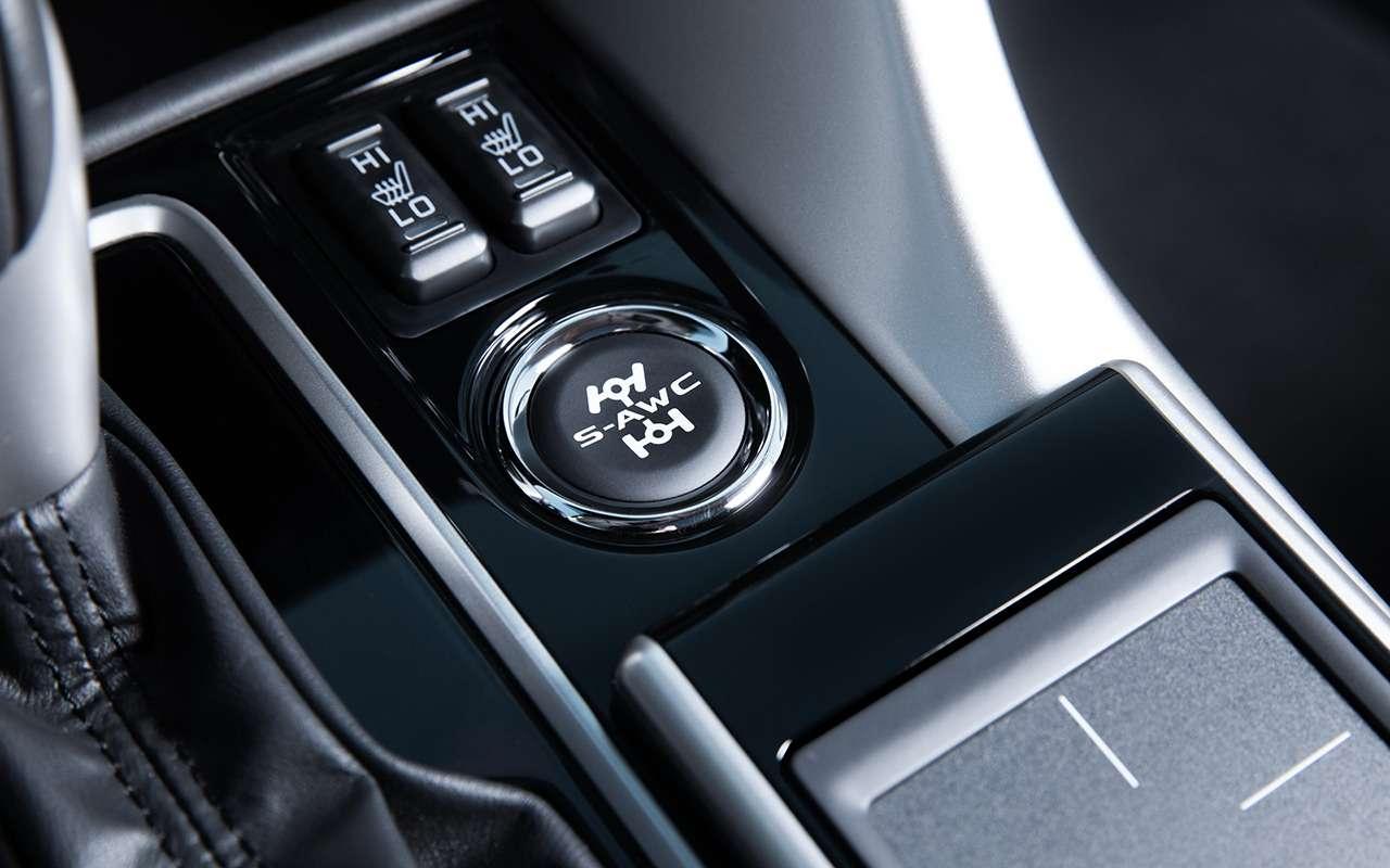 Какустроен кроссовер: все секреты Mitsubishi Eclipse Cross— фото 927360
