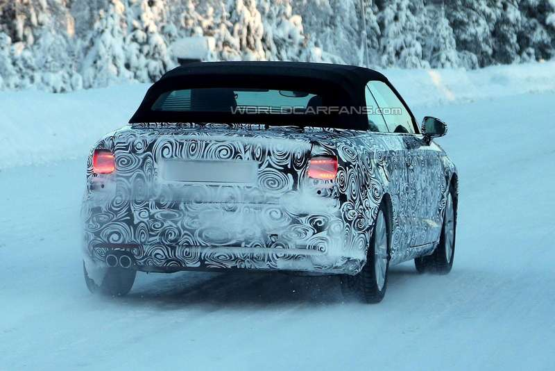 Audi A3Cabriolet test prototype side-rear view 2_no_copyright