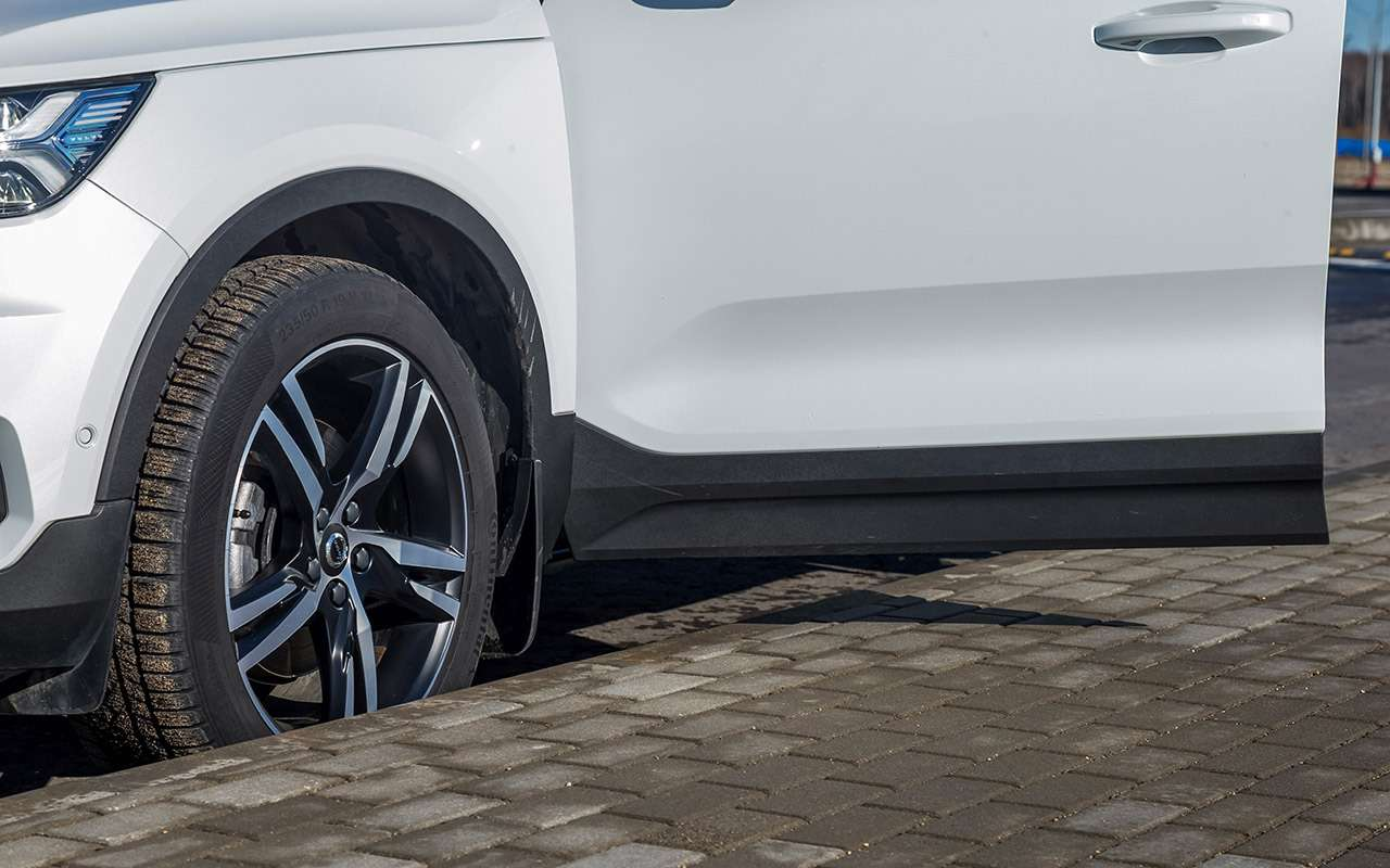Большой тест маленьких, нодорогих кроссоверов: Volvo, Lexus, Jaguar— фото 983840