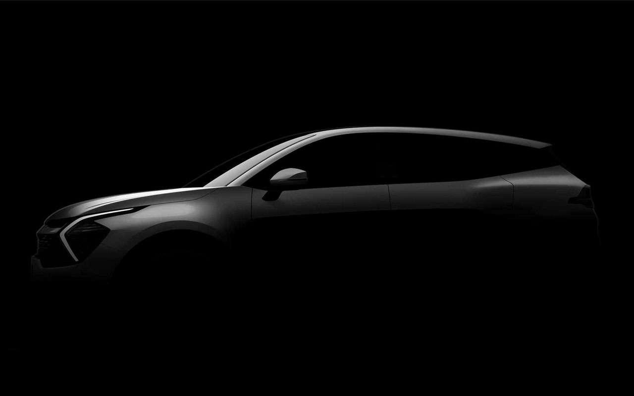Новый Kia Sportage— первые фото— фото 1250388