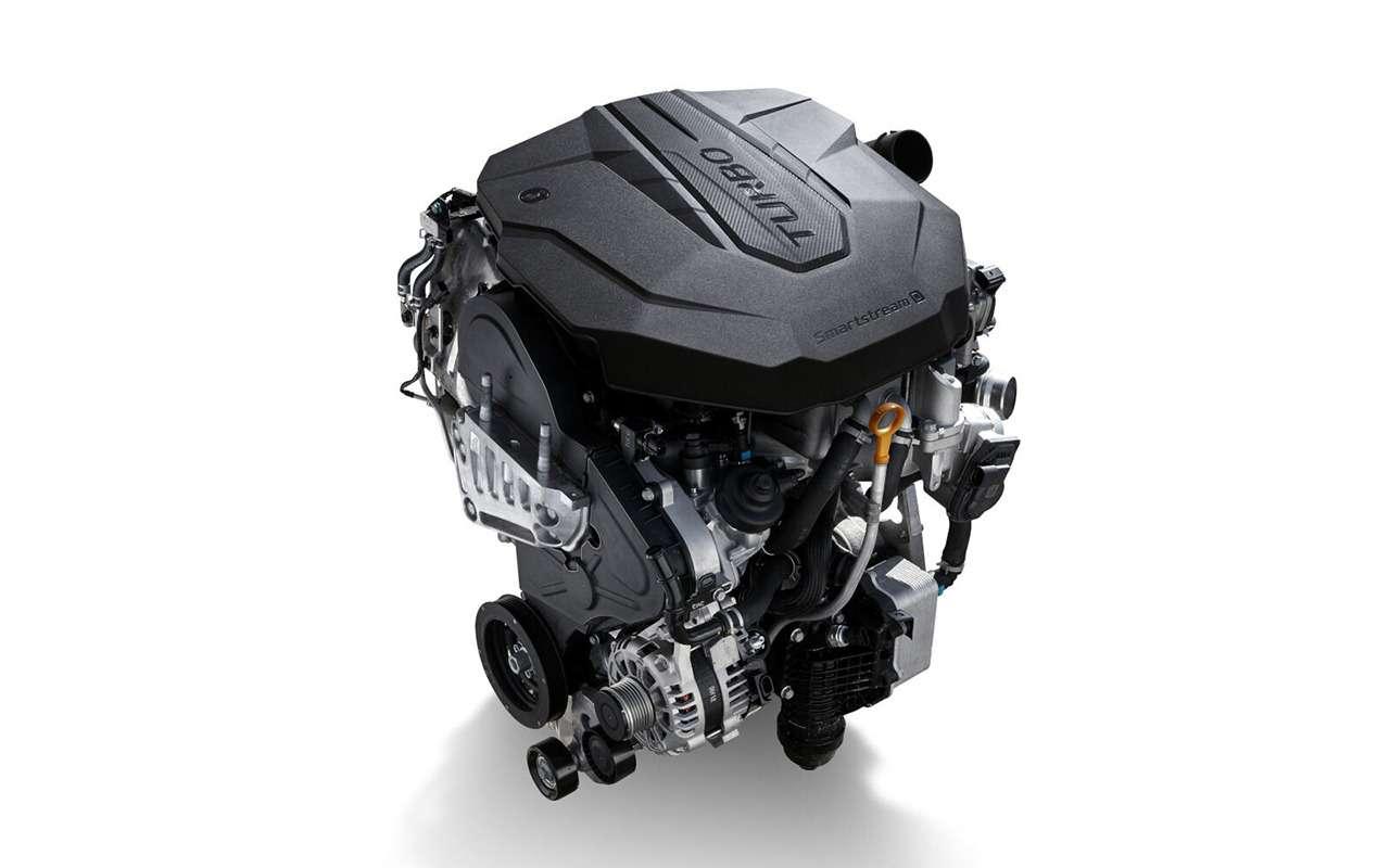 Hyundai Santa Fe2021: онпаркуется скнопки! Идетей баюкает!— фото 1227606