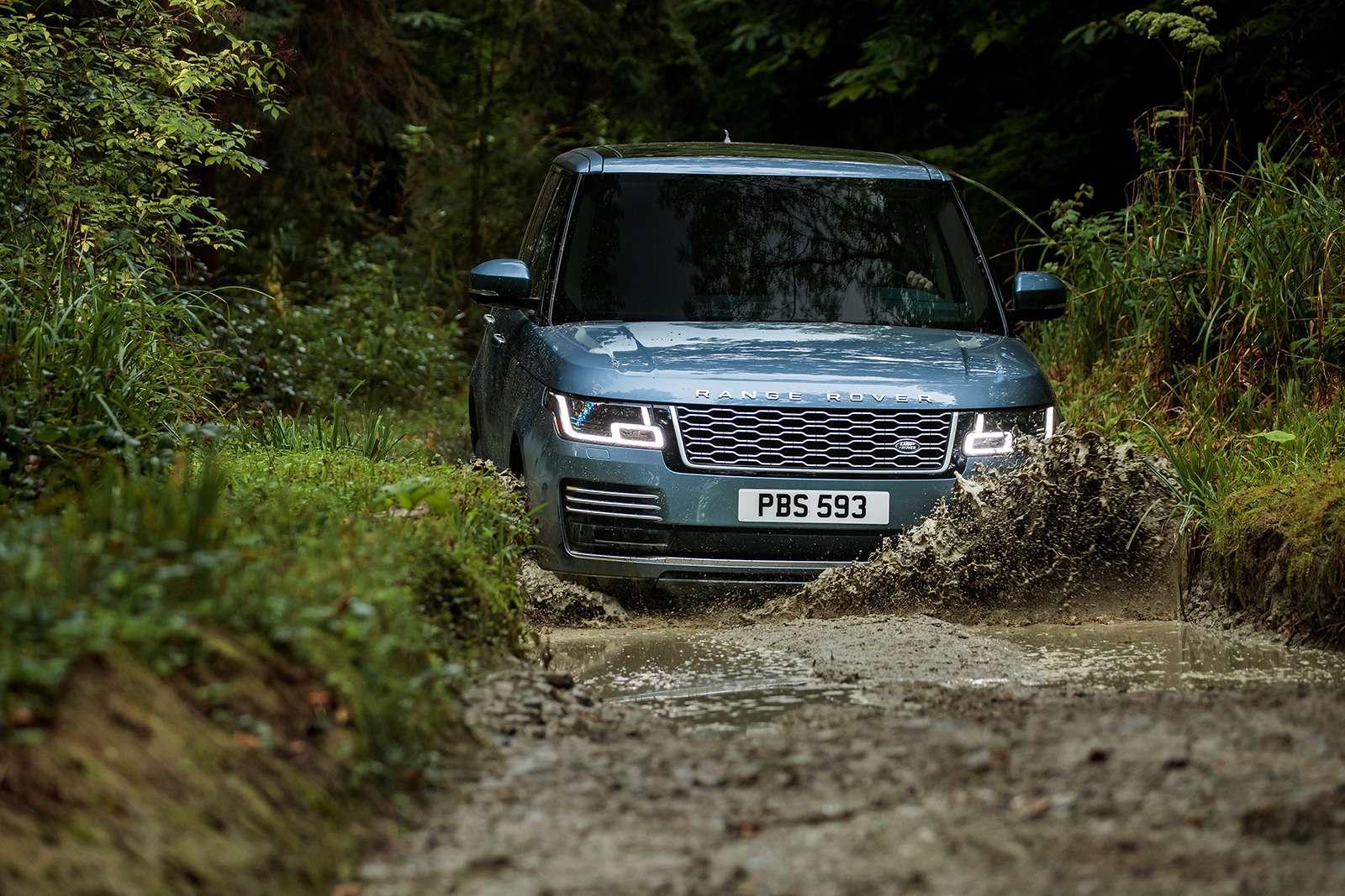 Обновленный Range Rover— ищем изменения слупой— фото 803907