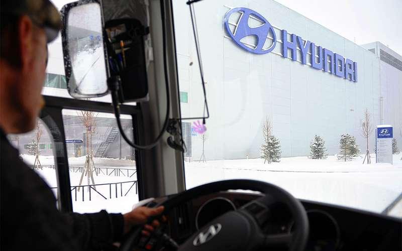 Хюндай хочет построить завод вПетербурге, который займет 200 га