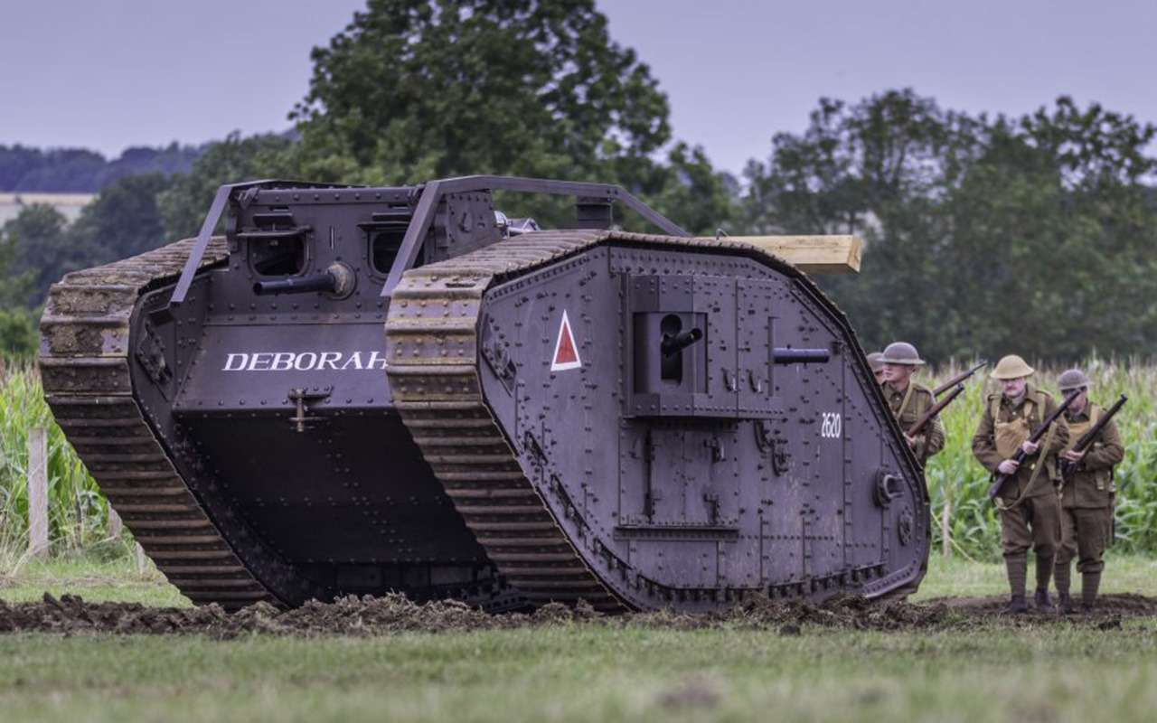 Ромбовидные «самцы» и«самки»: как вымерли самые нелепые танки— фото 998474