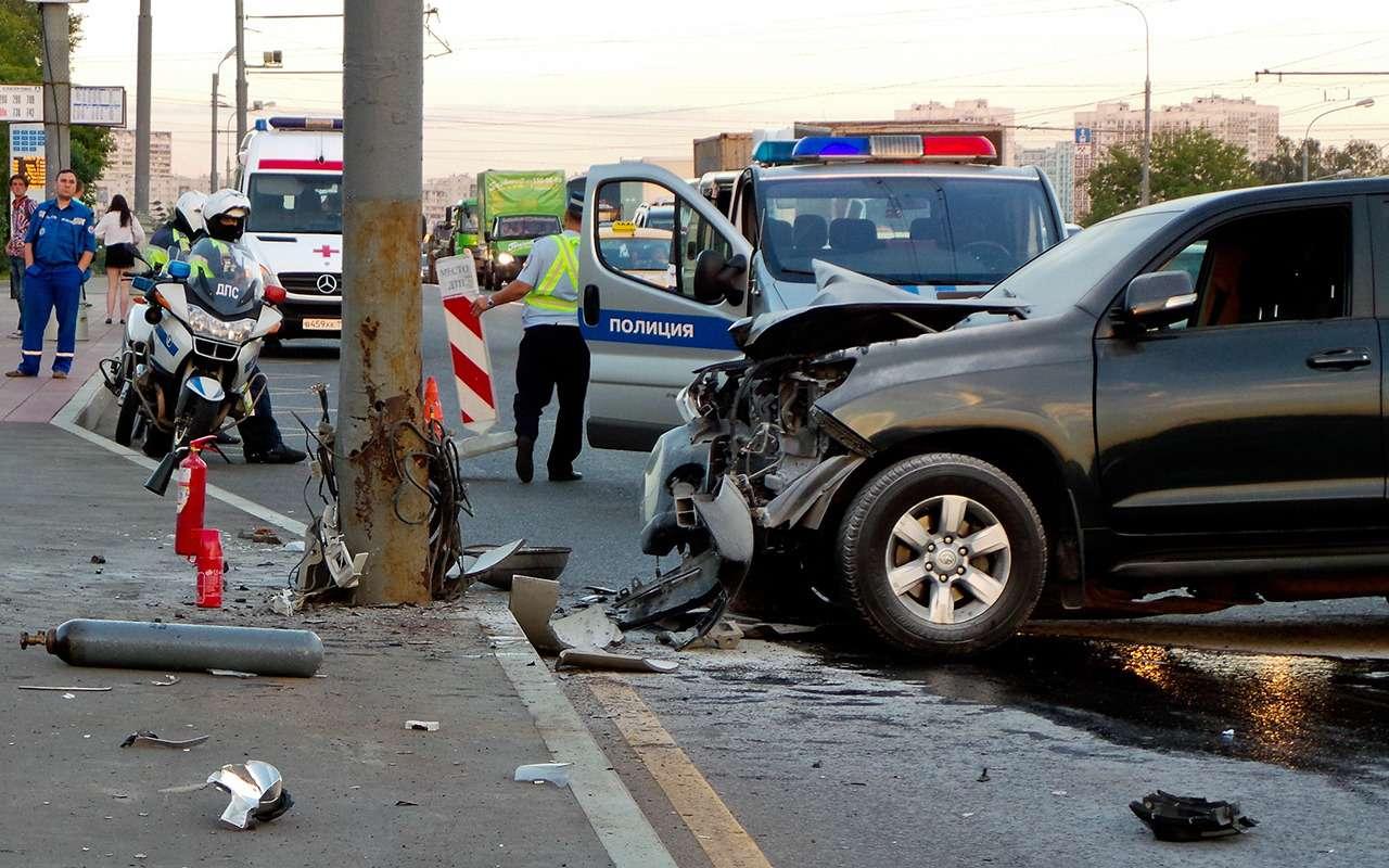 Названы основные причины аварий вРоссии— фото 919771